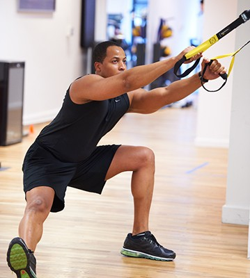 The Very Real Benefits of TRX Training at Julian Walker Studio